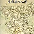Korea-map-Dongguk yeoji jido-by Yun Duseo.jpg