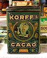 Korff's Cacao tin, 2,5Kilo Netto, pic4.JPG