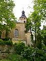 Kostel sv. Bartoloměje, Pístov (tower).jpg