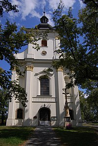 St. Bartholomew's Church, Vrahovice