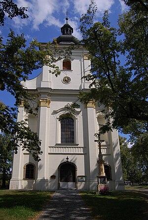 Vrahovice - Saint Bartholomew's Church in Vrahovice