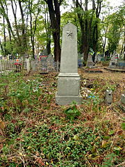 Kovel Volynska-brotherly grave of militiamen which perished in a fight with banderivci-1.jpg
