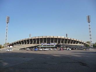 Central Stadium (Krasnoyarsk) - Image: Krasnoyarsk Central Stadium
