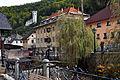 Kropa Kroparica-Fluss Museum Gottesmutter-Kirche 17102009 11.jpg
