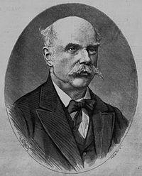Kruspér István portréja a Vasárnapi Ujságban