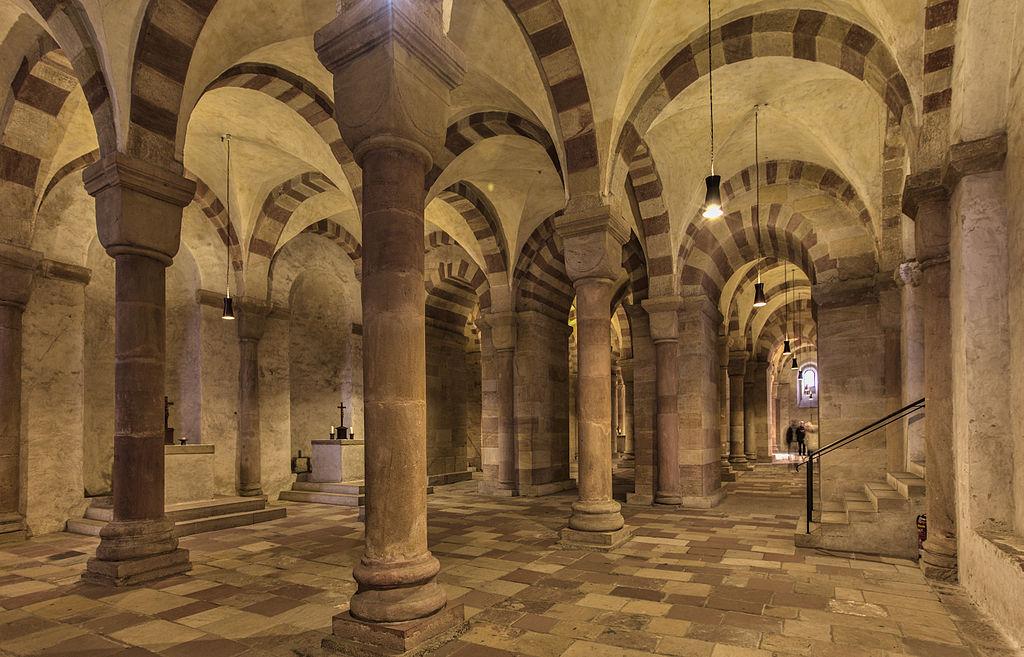Krypta des Doms zu Speyer