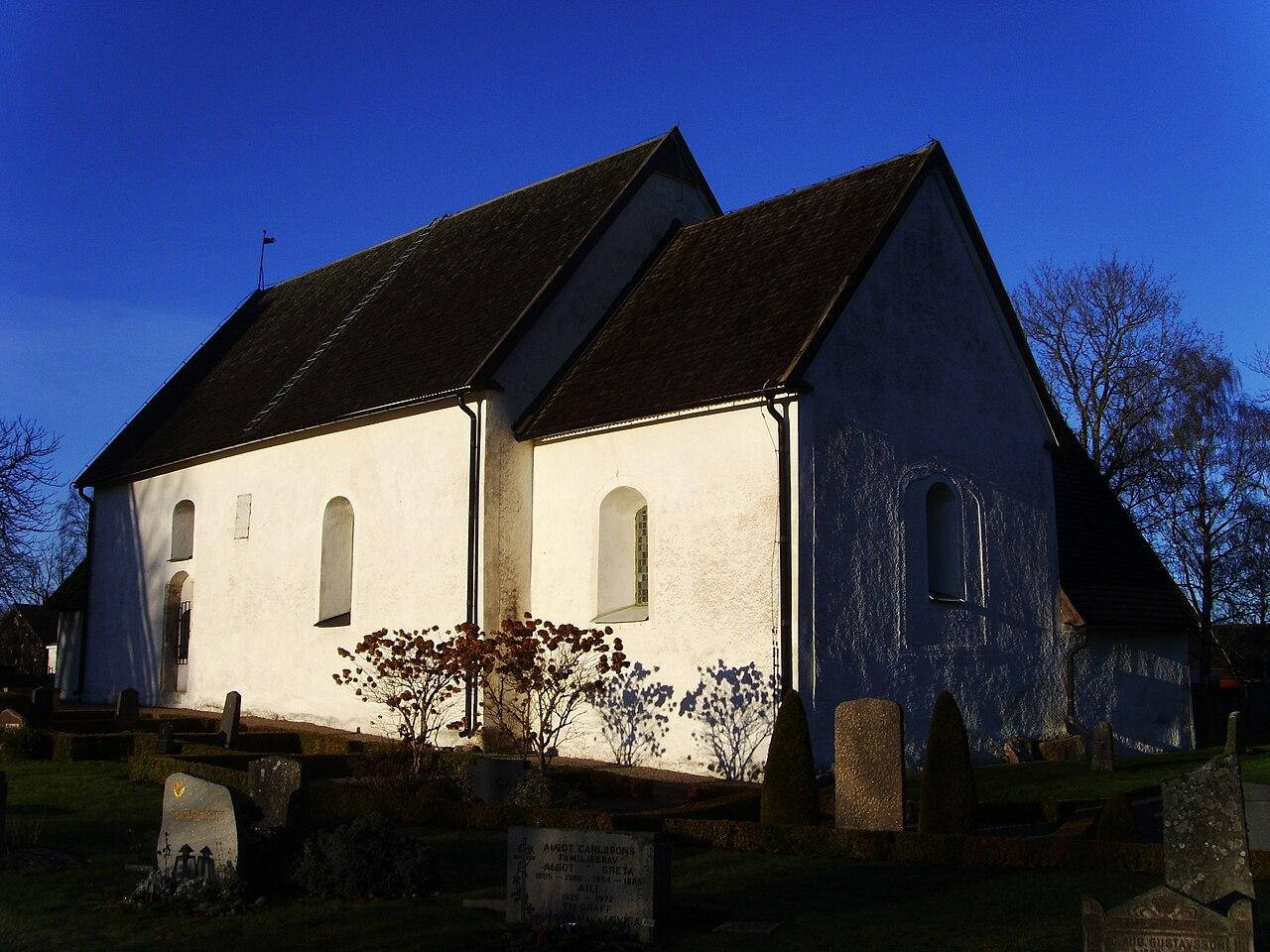 Fil:Kullerstads kyrka, den 21 december 2008, bild - Wikipedia