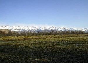 Küngöy Ala-Too Range - Kyungey Ala-Too near Bostery village