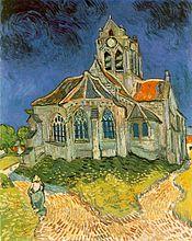 L'église d'Auvers-sur-Oise, 1890, Musée d'Orsay