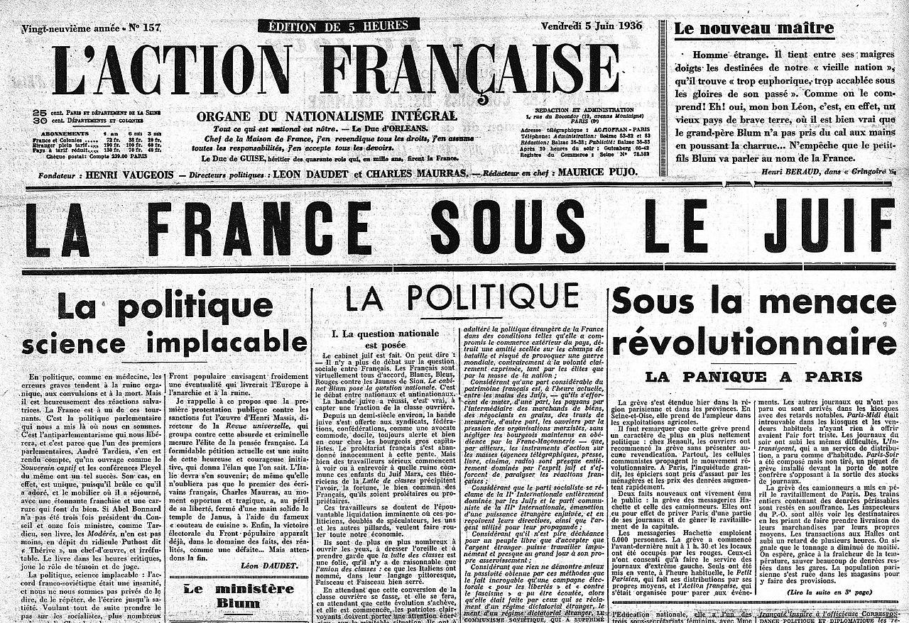 L'Action française (quotidien) - Wikiwand