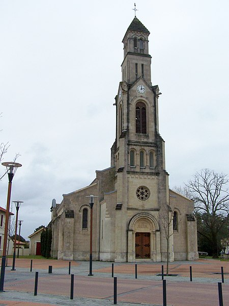 Église Saint Pierre à Lège-Cap-Ferret, Gironde, France