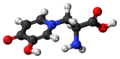 L-Mimosine molecule ball.png