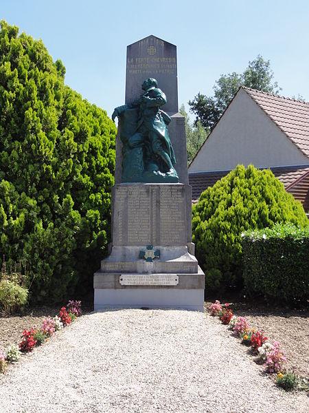 La Ferté-Chevresis (Aisne) monument aux morts