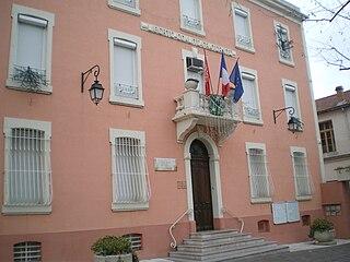 La Grand-Combe Commune in Occitanie, France