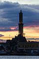 La Lanterna di Genova (IT) tramonto d'inverno.jpg