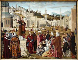 painting by Vittore Carpaccio