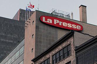 La Presse (Canadian newspaper) - Image: La Presse