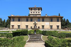 Villa La Petraia - Image: La petraia, veduta 02