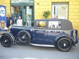 Lagonda - 2-litre 16-80 Weymann saloon c.1930