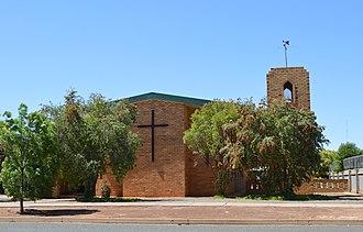 Lake Cargelligo, New South Wales - Image: Lake Cargelligo Anglican Church 001
