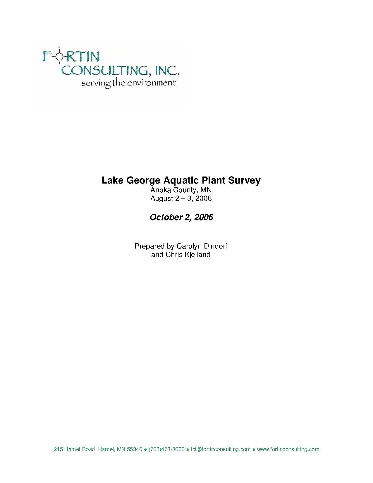 final survey report
