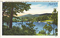 Lake Ridgecrest, Ridgecrest Baptist Assembly, Kitasuma Mountain in background, Ridgecrest, N.C. (5812050708).jpg