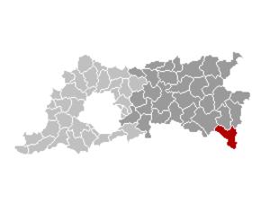 Landen - Image: Landen Locatie