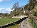 Lane past Kerswell House - geograph.org.uk - 749075.jpg