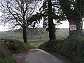 Lane to Hele from Higher Hill cross - geograph.org.uk - 1589090.jpg