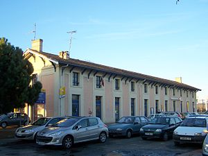 Gare de Langon - The station building