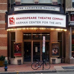 Shakespeare Theatre Company - Lansburgh Theatre, 450 7th Street NW, Washington, DC