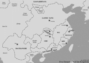 Jingnan - Jingnan (Nanping) shown on map