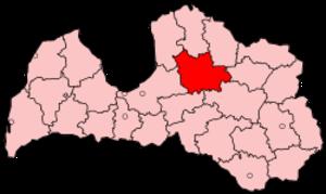 Cēsis District - Image: Latvia Cesis
