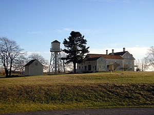 Wells National Estuarine Research Reserve - Image: Laudholm mainbuilding