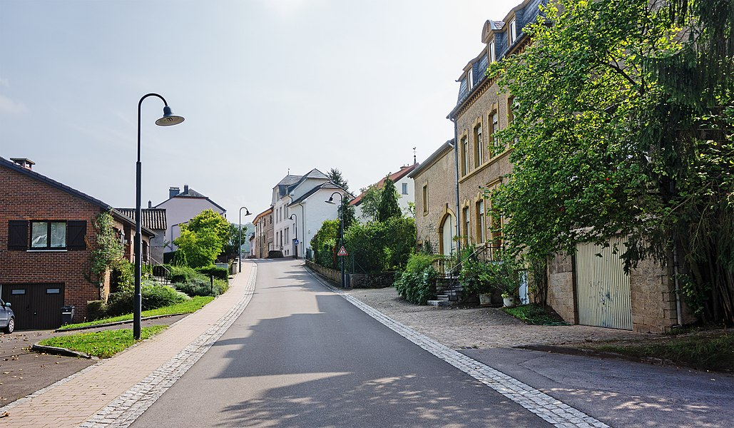Lauthegaass in Stadtbredimus