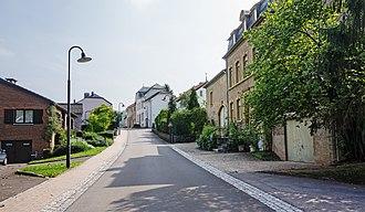 Stadtbredimus - Image: Lauthegaass in Stadtbredimus 01