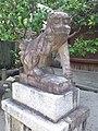 Le Temple Shintô Kan-daijin-jinja - Le komainu2.jpg