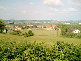 A general view of Serpaize