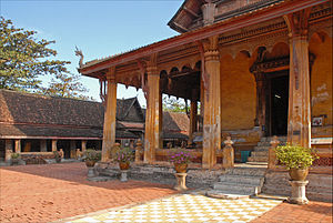 Lao rebellion (1826–28) - Wat Sisaket, Vientiane. Completed by King Anouvong in 1824.