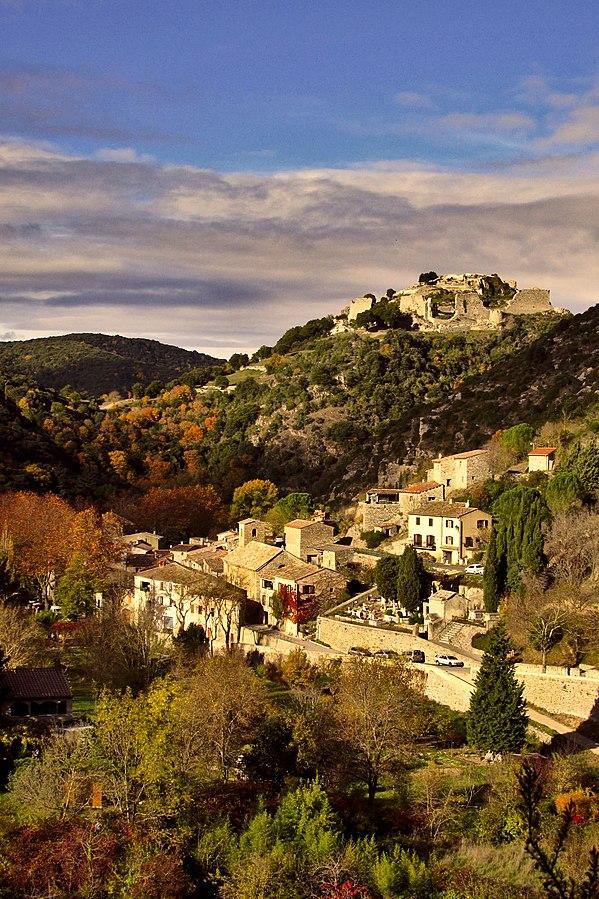 Village et château de Termes en Pays cathare