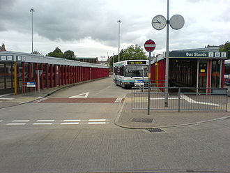 Leigh, Greater Manchester - Leigh bus station