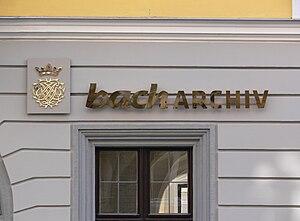 Bach Archive - Bach-Archiv