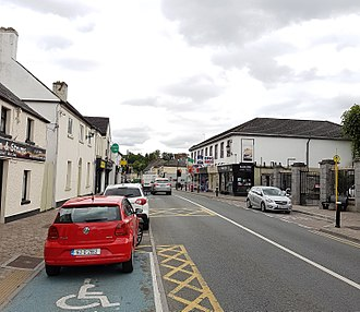 Leixlip - Main Street in Leixlip