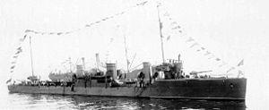 Orfey-class destroyer - Image: Lenin(EM)