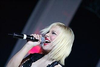 Lenna Kuurmaa - Lenna Kuurma performing at the Raadio 2 Hit of the Year award gala, 2007