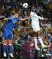 Leonardo Bonucci and Danny Welbeck England-Italy Euro 2012.jpg