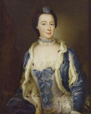 Leopoldine Marie of Anhalt-Dessau - Image: Leopoldine Marie of Anhalt Dessau, margravine of Brandenburg Schwedt