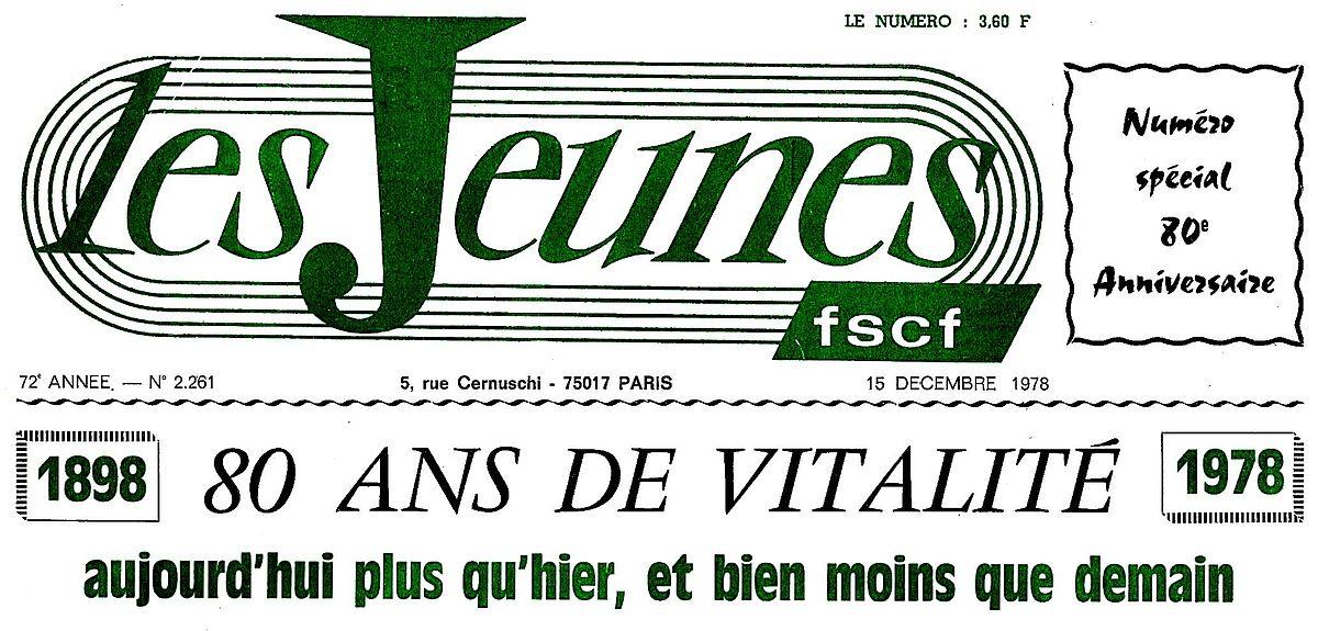 Les Jeunes (journal) — Wikipédia 1515c117d41