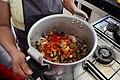 Les ingrédients du plat typiquement traditionnel tqalia Au Maroc.jpg