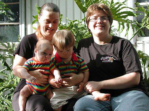Lesbische Familie